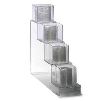 Dispense Rite CTVL Countertop Vertical Lid Organizer, 20 1/2 x 6 x 24 1/4 inch - 1 each.