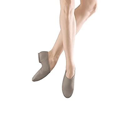Bloch Dance Women's Neo-Flex Leather and Neoprene Slip On Split Sole Jazz Shoe