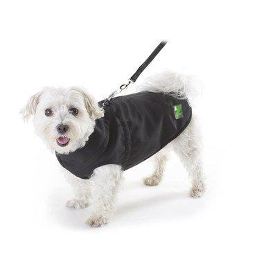 PAWZ 1Z Dog Coat in Black Size: 12'' L x 20'' G