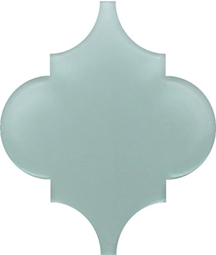 10 - Square Feet - Pacifica Arabesque Glass Mosaic Tiles