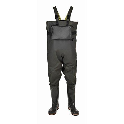 Men's Waterproof Bootfoot Overall Chest Waders NORDMAN BOX ()