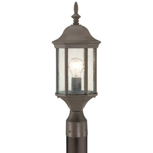 Thomas Lighting SL905063 Hawthorne Outdoor Post Lantern, Painted Bronze (Lighting Lighting Bronze Thomas)