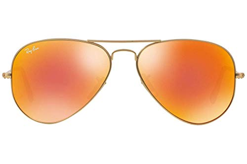Mm Aviator 85 De Rb3025 112 Metal 58 Gold Soleil ban Ray Lunettes Pxrqf8SP