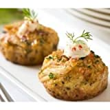 Phillips Frozen Chesapeake Style Crab Cake, 2 Ounce -- 24 per case.