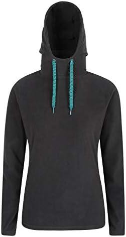 Mountain Warehouse Camiseta Micro Forro Polar Cremallera de Cuello Hombres Beta Chaqueta con Media Cremallera Camiseta c/ómoda Suave con Micro Forro Polar Caliente