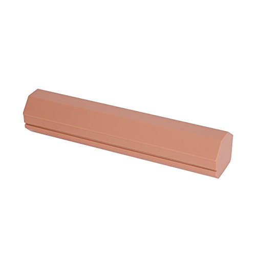 Ideaco Japan Minimalist Design Wrap Holder 100 Cling Wrap Film Dispenser SOIL PINK (Pink Cling Wrap)