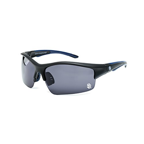 CA Accessories MLB San Diego Padres Power Hitter Sunglasses, -
