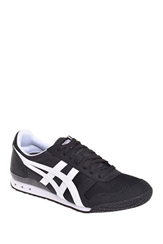 Onitsuka Tiger Mens Ultimate 81 Black White Sneaker - 11