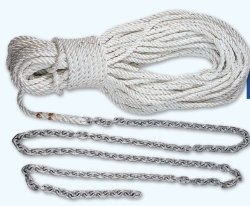 Lewmar 5' 1/4'' G4 Chain 100' 1/2'' W 5/16'' Rope by Lewmar