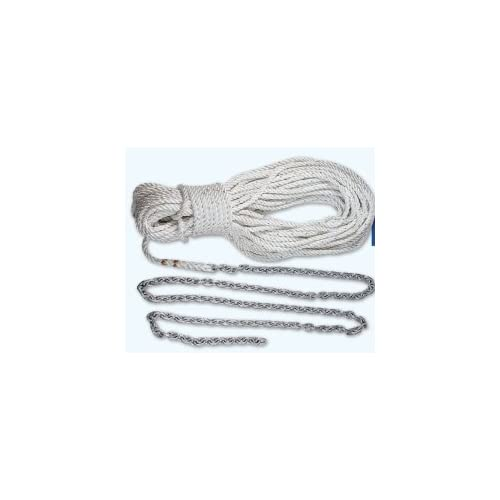 Image of Lewmar 10' 1/4' G4 Chain 150' 1/2' W-5/16 Rope