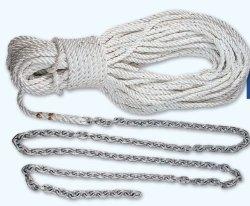 """Lewmar 15' 1/4"""" G4 Chain 200' 1/2"""" W-5/16"""" Rope"""