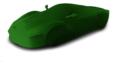 Coverking Custom Car Cover for Select Ford Mustang Models - Satin Stretch (Synergy Green) ()