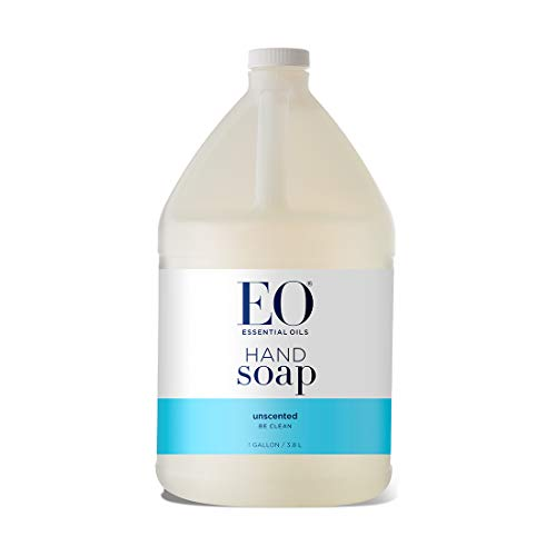 - EO Botanical Liquid Hand Soap, Refill, Unscented, 128 Ounce (1 gallon)