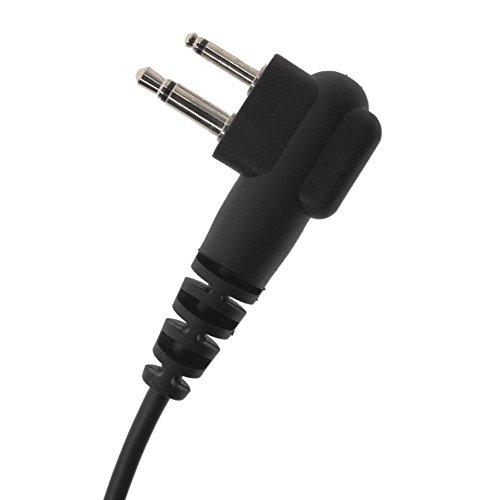 AOER Swivel Earpiece Earhook/Earhanger Rotating Headset for Motorola CT450LS CLS1110 CP88 CP100 BearCom BC130 VL50 VL130 MagOne BPR40 EP450 AU1200 by AOER (Image #5)