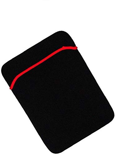 Seashell Soft & Neoprene Fully Padded Laptop Sleeve Bag Case Pouch Reversible Bag for DELL INSPIRON 13 inch Laptops (RED & Black) (B07S3QJHC8) Amazon Price History, Amazon Price Tracker