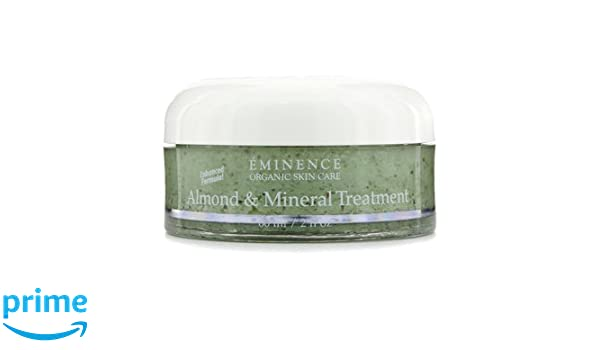 Eminence Almond and Mineral Treatment, 2 Ounce HYDRATING SPRAY *Choose your Size* Mineral Makeup Setting Mist Vegan Facial Moisturizer Spritz (1 oz. Mist)