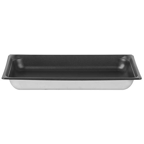 - TableTop King 90027 Super Pan 3 Full Size Anti-Jam Stainless Steel SteelCoat x3 Non-Stick Steam Table/Hotel Pan - 2 1/2