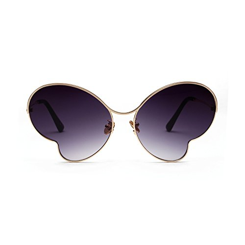 Redondo Libre polarizadas Unisex al Sol de Portección Polarizado Sunglasses Vintage Clásico UV400 Aire inspirado Gafas metálico 8FafIq
