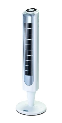 Holmes HT38R Oscillating Pedestal Tower Fan with Remote Control