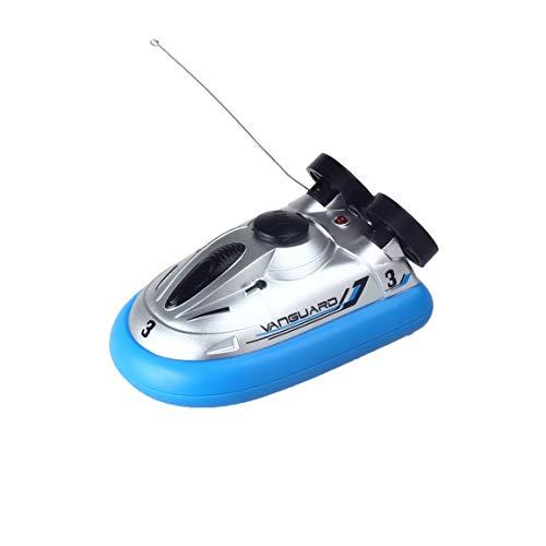 Impulls Mini rc Boat Hovercraft Blue Mini Micro I/R RC Remote Control Sport Hover Boat Toy Gift 777-220 FSWB (Hover Boat)