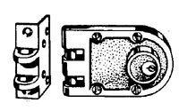 Auxiliary Lock, Jimmyproof Deadlock, Bronz