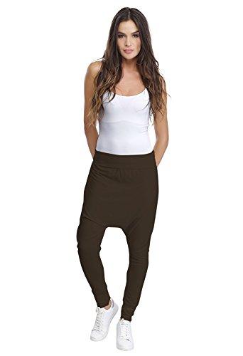 Paris Rendez In Modal Pantaloni Marrone Galy Sarouel Vous w6w4B