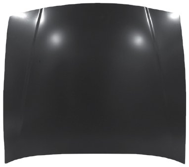 OE Replacement Ford/Mercury Hood Panel Assembly (Partslink Number FO1230181)