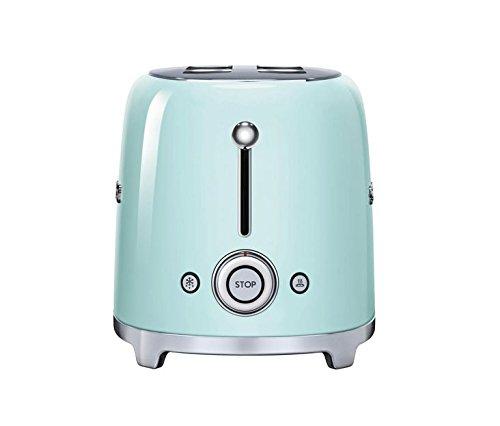Smeg-TSF02PGUS-50s-Retro-Style-Aesthetic-4-Slice-Toaster-Pastel-Green