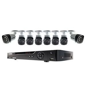 Lorex LHV10082TC8PM 720p 8-Camera Security System with 2TB DVR For Sale