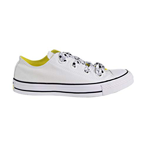 (Converse Chuck Taylor All Star Big Eyelets OX Women's Shoes White/Yellow/Black 560670c (6 D(M) US))