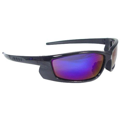 Radians VT1-63 Voltage Protective Safety Glasses, Electric Blue Lens, Black - Radians Sunglasses