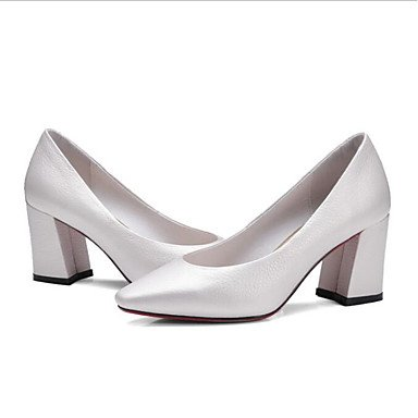 pwne Tacones De Mujeres Pu Confort Casual De Resorte Plano Blanco Blanca Us8 / Ue39 / Uk6 / Cn39 US6.5-7 / EU37 / UK4.5-5 / CN37