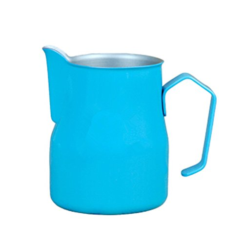 Milk Frothing Pitcher/Jug/Cup Stainless Steel Suitable for Coffee, Latte and Milk Frothing,20 oz (550 ML)
