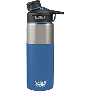 CamelBak (53864) Chute Vacuum Insulated Stainless Water Bottle - Pacific, 20 oz