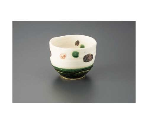 KOBIKI Oribe 12.8 cm Match Bowl Pottery Ware by