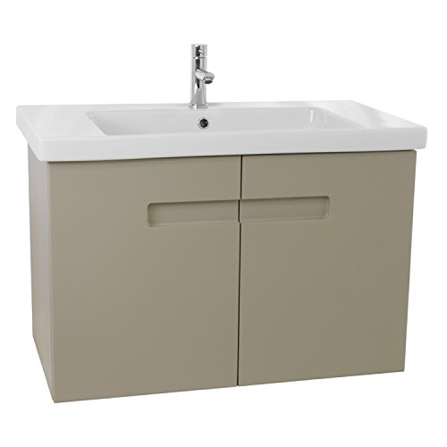 "50%OFF ACF ACF NY67 New York Bathroom Vanity Set with Inset Handles, 32"", Matt Canapa"