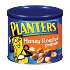 Planters Peanuts Honey Roasted 12OZ (Pack of 24)