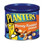 Planters Peanuts Honey Roasted 12OZ (Pack of 24)