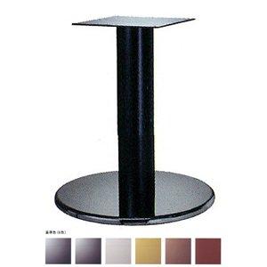 e-kanamono テーブル脚 ラウンドS7550 ベース550φ パイプ139φ 受座240x240 ステンレス/塗装パイプ AJ付 高さ700mmまで シルバーメタリック B012CF734G シルバーメタリック シルバーメタリック