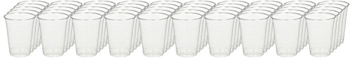 Green Direct GD16OZ-50 PET High Quality Party Cups, Durable, 16 oz., Clear (16 Ounce Grams)