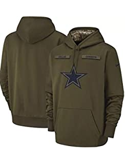 sneakers for cheap 47dcc cab9d Amazon.com : Men's Dallas Cowboys Olive Salute to Service ...