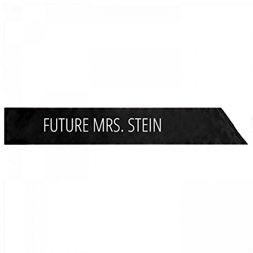 Groom Party Stein (Future Mrs. Stein Bachelorette Gift: Adult Satin Party Sash)