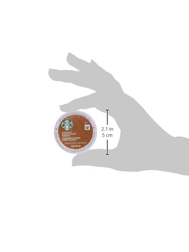 Starbucks Pike Place Roast Medium Roast Single Cup Coffee for Keurig Brewers, 4 boxes of 24 (96 total K-Cup pods) by Starbucks (Image #8)