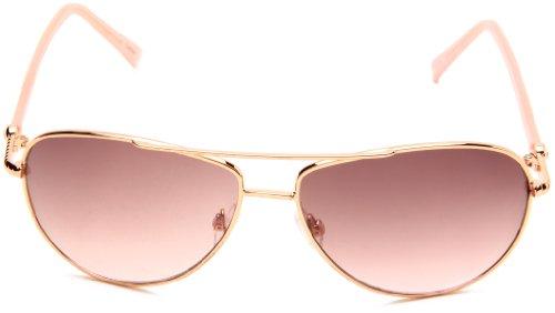 cc39af9fce Amazon.com  Steve Madden Womens S5187 RGLD Aviator Sunglasses