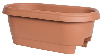 24'' Clay Rail Planter by BLOEM