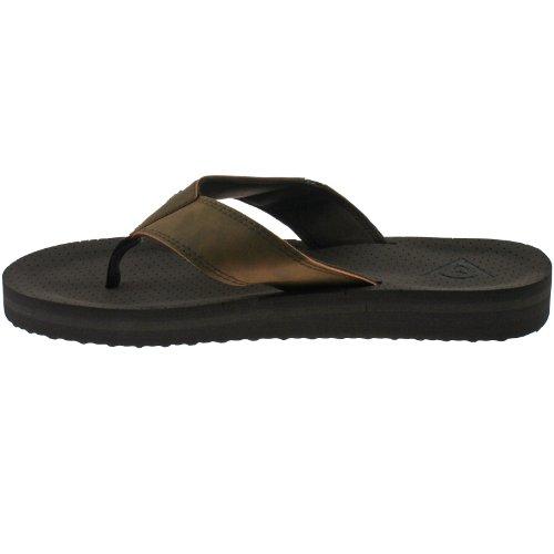 Dunlop DMP567 - Sandalias de vestir para hombre Multicolor negro/marrón marrón - marrón