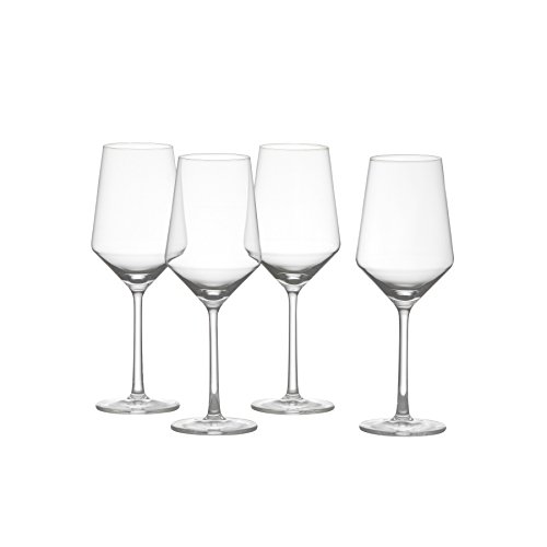 (Schott Zwiesel Tritan Crystal Glass Pure Stemware Collection, Sauvignon Blanc Wine Glass, 13.8-Ounce, Set of 4)