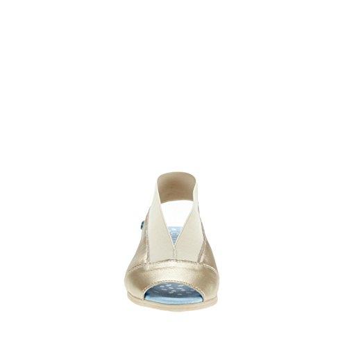 Cloud 2568 Scarpe Da Donna Calibro Diapositiva Oro