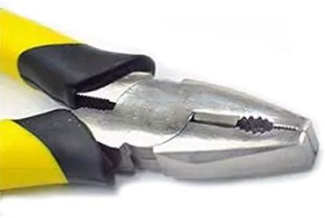 JPLJJ ワイヤーカッター 炭素鋼 アメリカクロームメッキ 多機能 ワイヤーブレイクツールプライヤーマニュアル (Size : 6 inch)