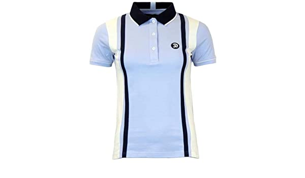 Trojan Records - Polo - para mujer Azul azul claro 38: Amazon.es ...